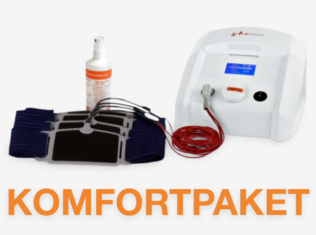 Komfortpaket HiTop 191 Gerät Fixierbandagen Kontaktspray gbo Medizintechnik