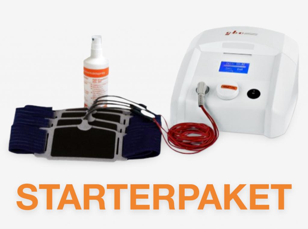 Starterpaket HiTop 191 Gerät Fixierbandagen Kontaktspray gbo Medizintechnik